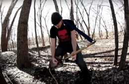 Shovel Metal - And How To Make The One String Electric Shovel Guitar Featured