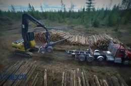 Start To Finish Logging And A Tour Through The Sawmill - Pretty Great HD Aerial Footage featured