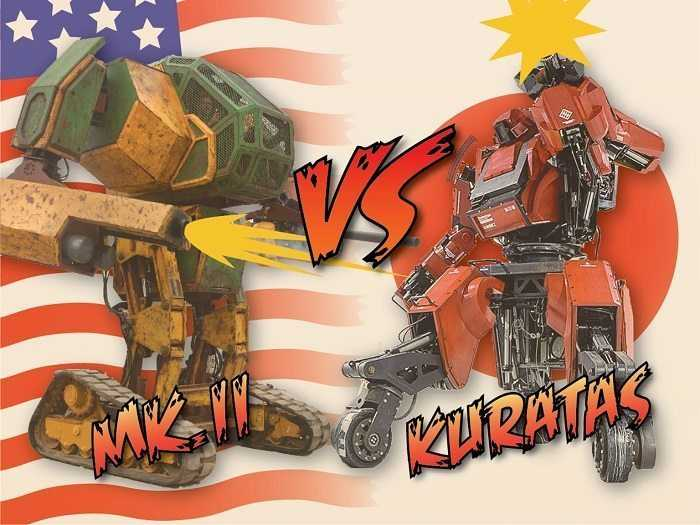 There Is Going To Be A USA VS Japan MegaBot Duel - Yes This Is Real main