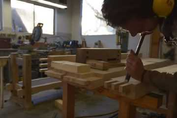 Watch The Samurai Carpenter Build An EPIC Workbench - The Samurai Workbench featured