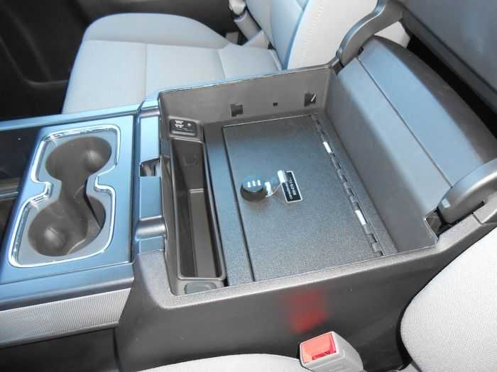 Console Vault - Keep You Valuables Safely Secured In Your Truck pictures 002