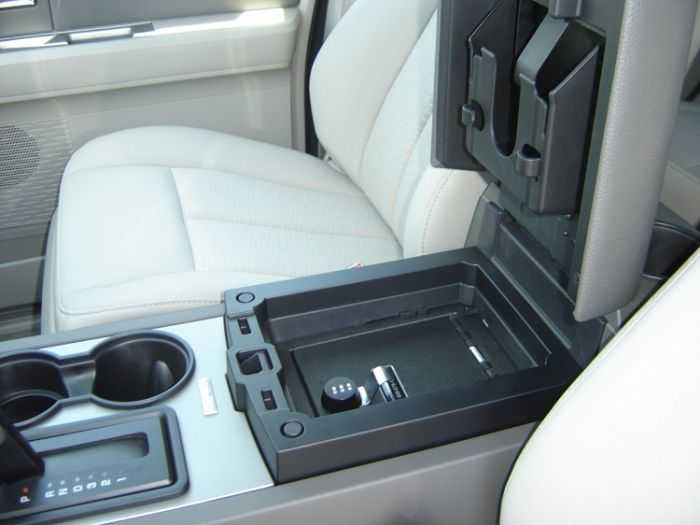 Console Vault - Keep You Valuables Safely Secured In Your Truck pictures 004
