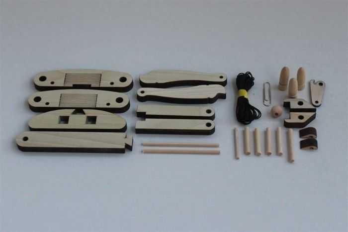 DIY Miniature Wooden Ballista Kit pictures 005