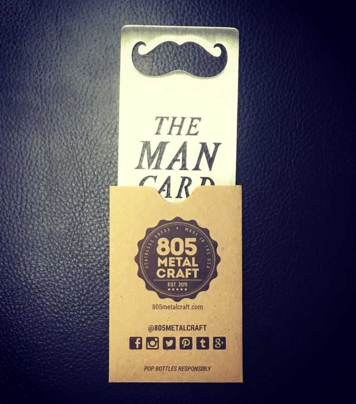 Man Card Stainless Steel Bottle Opener pictures 003