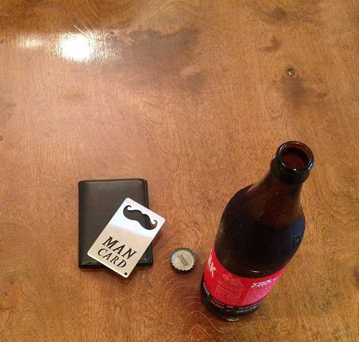 Man Card Stainless Steel Bottle Opener pictures 005