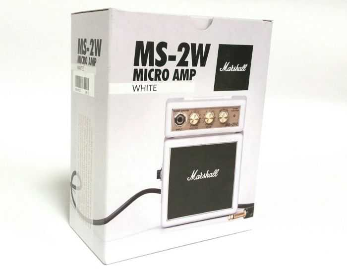 Marshall MS2 Mini Guitar Amplifier pictures 007