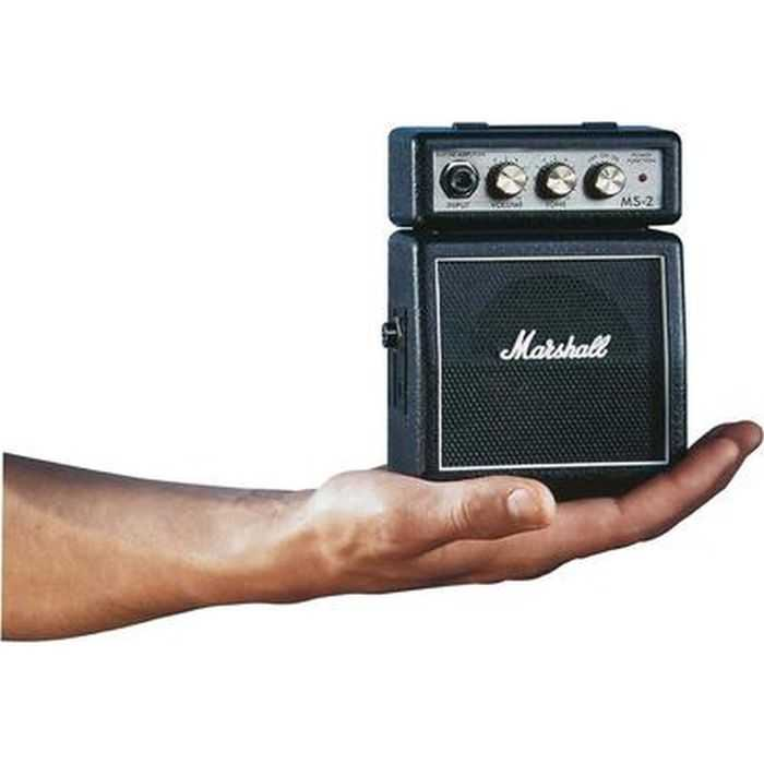 Marshall MS2 Mini Guitar Amplifier pictures 008