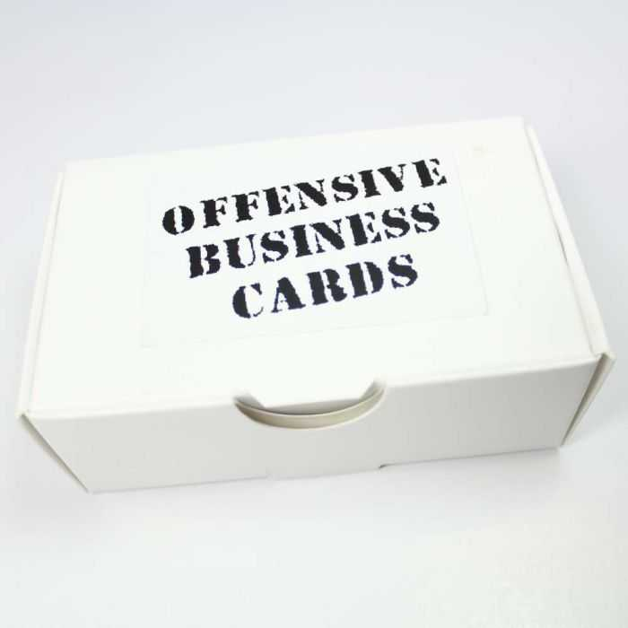 Offensive Business Cards pictures 001