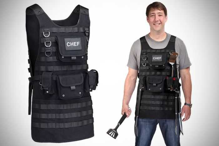 Tactical BBQ Chef Apron pictures 001