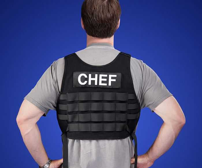 Tactical BBQ Chef Apron pictures 003