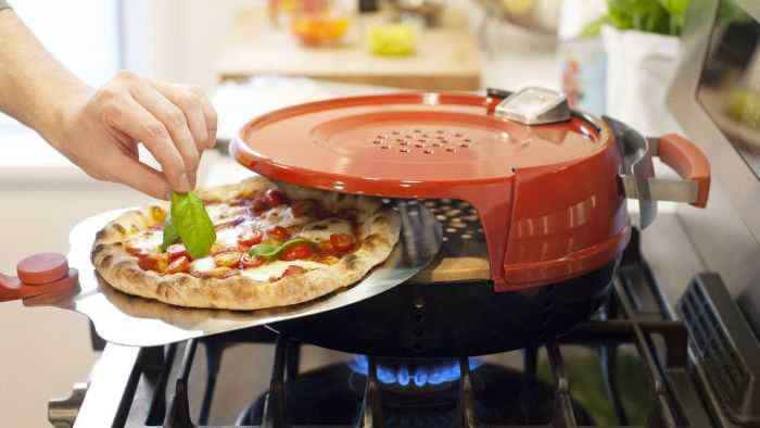 The Pizzeria Pronto Stovetop Pizza Oven pictures 001
