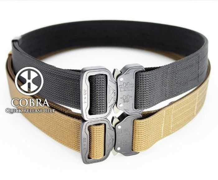 X-Concealment Shooter's Belt With COBRA Quick Release Buckle pictures 002