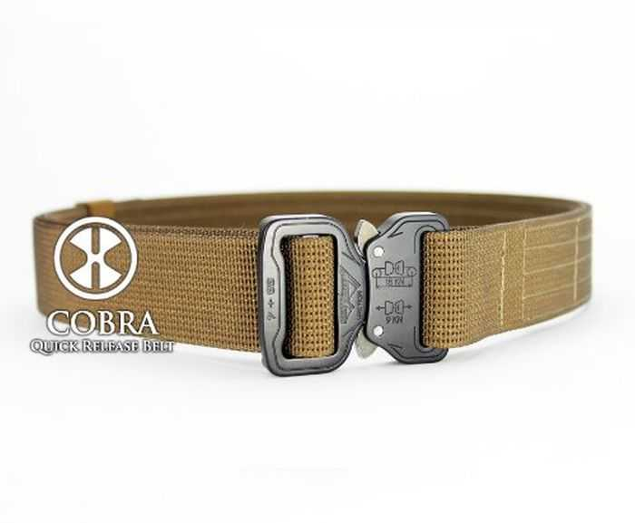 X-Concealment Shooter's Belt With COBRA Quick Release Buckle pictures 004