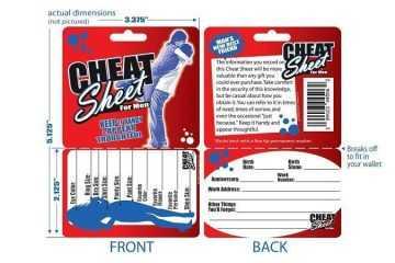 cheat sheet for men featured