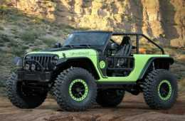 Jeep Wrangler Trailcat 2017 Concept Edition Featured