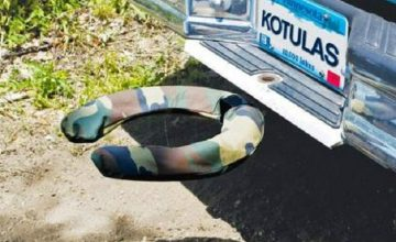 Off-Road Commode Trailer Hitch Toilet Seat - No More Squatting In The Bushes To Poop featured