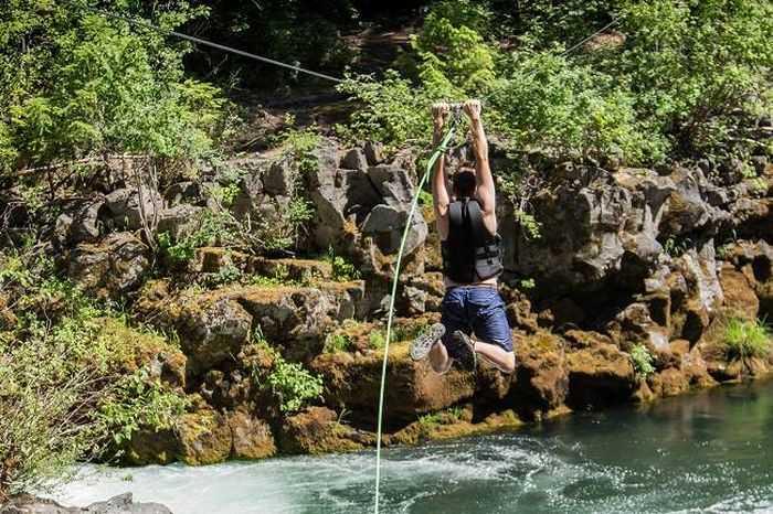 backyard diy zip line kit 250 feet 006