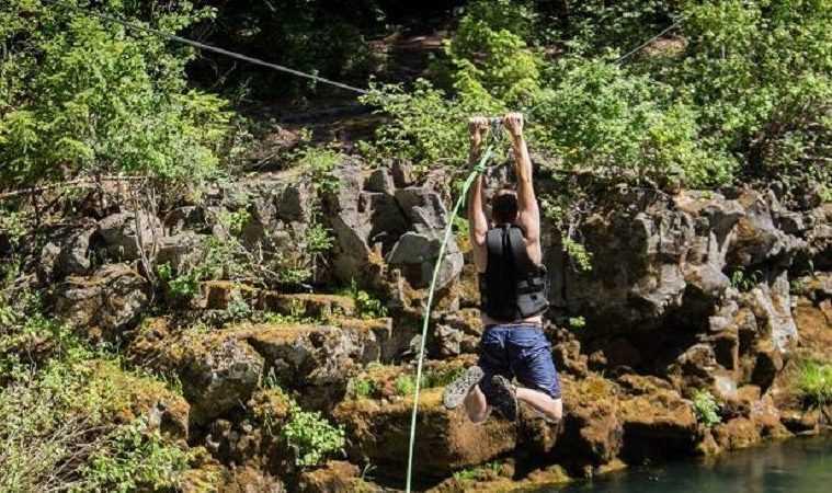 backyard diy zip line kit 250 feet featured