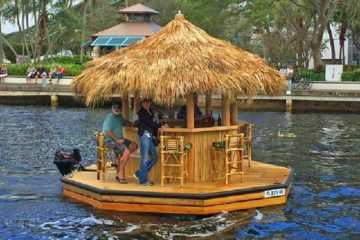 Crusin Tiki - Get Your Own Tiki Bar Boat