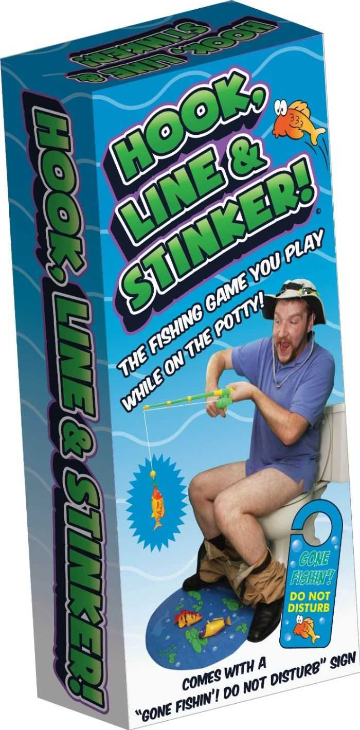Hook Line And Stinker Toilet Fishing Game 001
