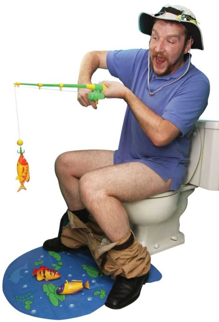 Hook Line And Stinker Toilet Fishing Game 002