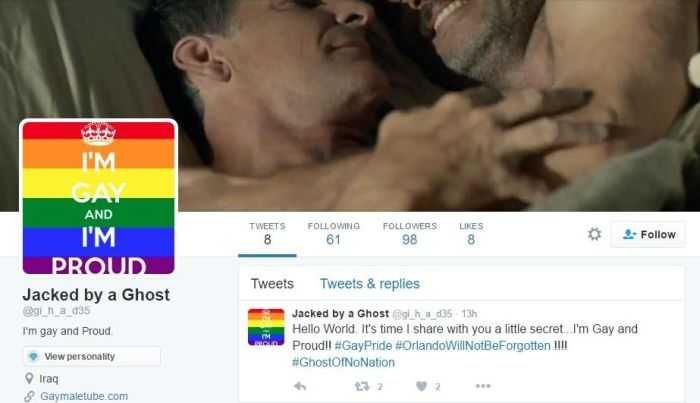 Over 200 ISIS Twitter Accounts Have Been Hacked With Gay Pornography pictures 001