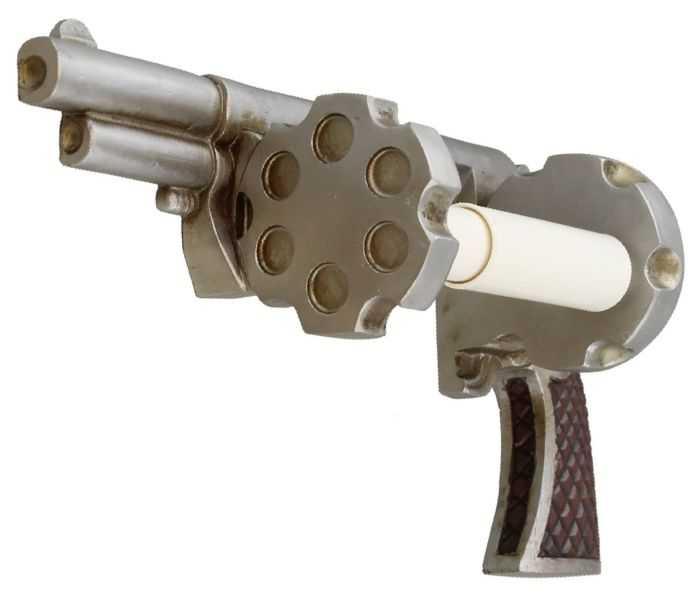 Pistol Revolver Toilet Paper Holder review where to buy 003