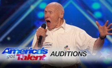This 82 Year Old Man Just Rocked Killed Let The Bodies Hit The Floor On Americas Got Talent featured