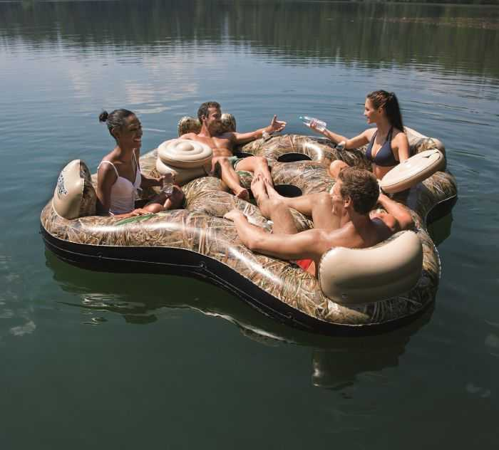 four person Realtree Camo Floating Island review where to buy 003