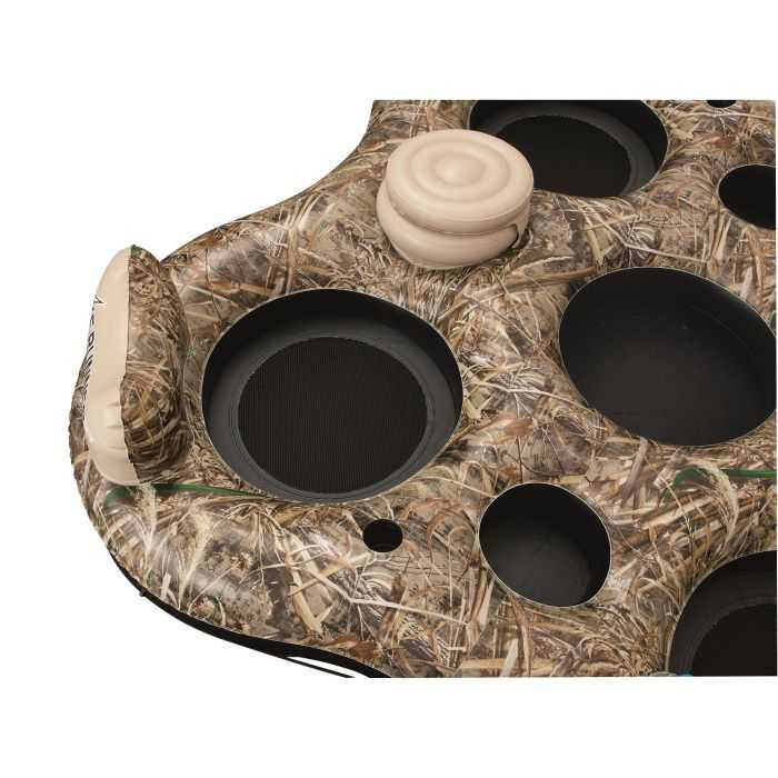 four person Realtree Camo Floating Island review where to buy 004