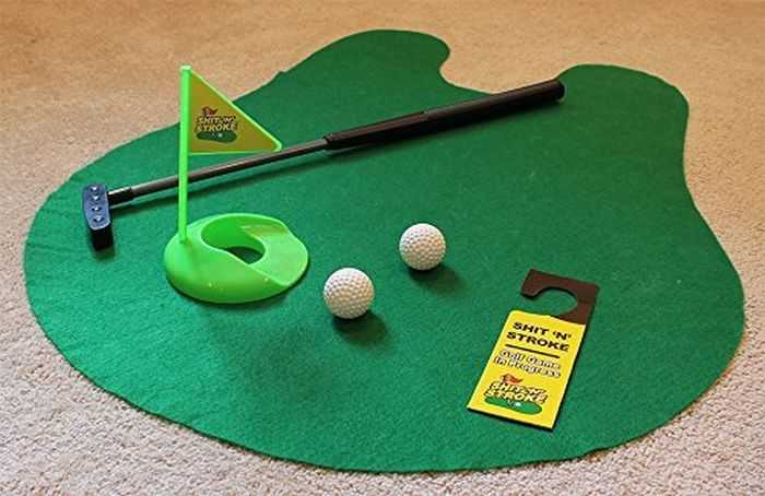shit N Stroke Potty Putter Bathroom Golf Kit 003