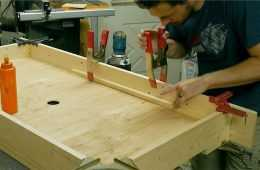 How To Build A Mini Air Hockey Table Featured