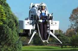 Meet Bubba'S Jetpack - The World'S First Jetpack Golf Cart - From Oakley And Bubba Watson Featured