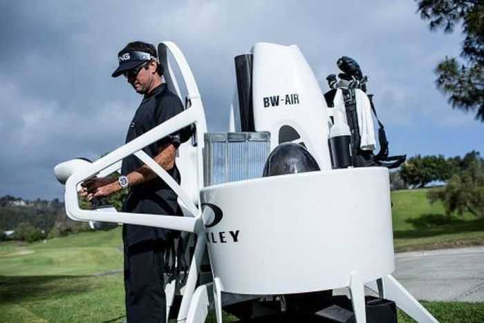 Meet Bubba's Jetpack - The World's First Jetpack Golf Cart - From Oakley And Bubba Watson pictures 001