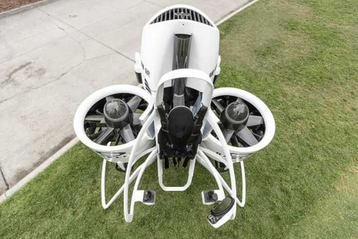 Meet Bubba's Jetpack - The World's First Jetpack Golf Cart - From Oakley And Bubba Watson pictures 003