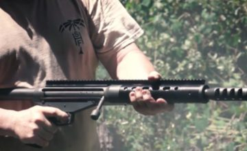 .50 BMG Bolt Action Pistol featured