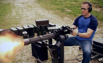 GOP Gubernatorial Candidate Eric Greitens Shooting A Minigun Campaign Ad featured