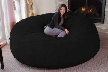 Want A Giant 8 Foot Super Comfy Bean Bag Chair? Of Course You Do.