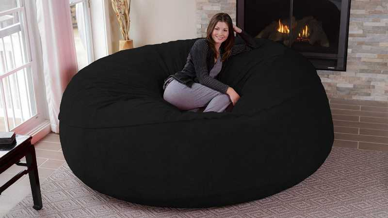 Want A Giant 8 Foot Super Comfy Bean Bag Chair Of Course