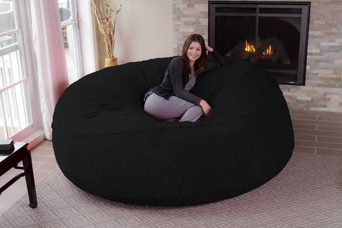 Giant 8 Foot Super Comfy Bean Bag Chair