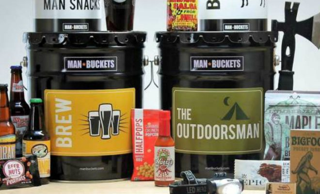 Man Buckets - The Perfect Gift For Men.