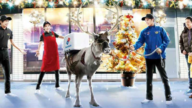 dominos-pizza-in-japan-istraining-reindeer-to-deliver-pizza-featured