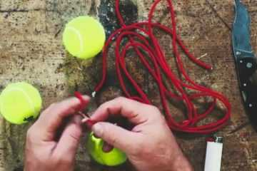 Tennis Ball Bola Trap - How To Make One