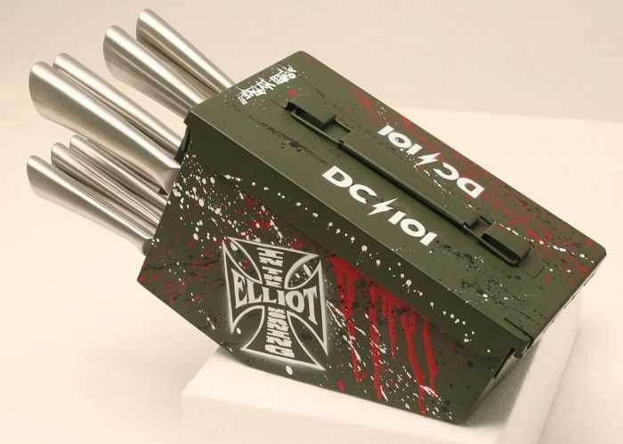 Ammo Can 10 Piece Knife Set 008