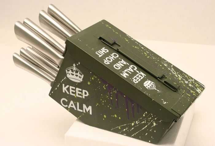 Ammo Can 10 Piece Knife Set Your Kitchen Needs These