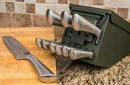 Ammo Can 10 Piece Knife Set featured