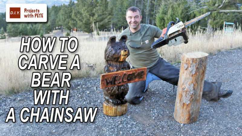How To Carve A Bear With A Chainsaw featured