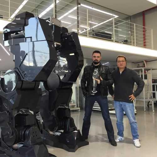 Korean Tech Company Has Built A Fully Functional 14 Foot Tall Bipedal Mech 008