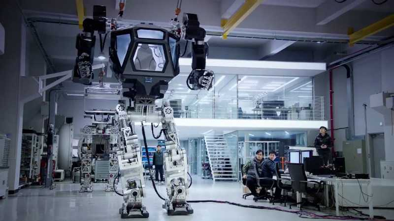Korean Tech Company Has Built A Fully Functional 14 Foot Tall Bipedal Mech featured
