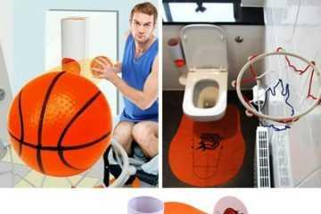 Slam Dunk Toilet Bathroom Set featured 4